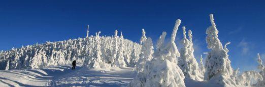 Sněhová nadílka na Lysé hoře
